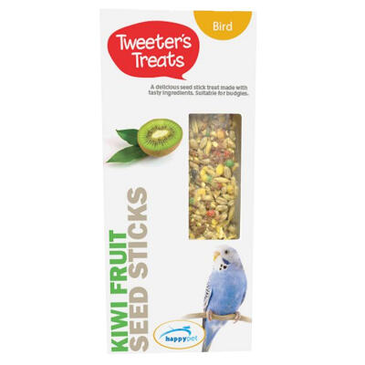 Tweeters Treats Seed Sticks for Budgies - Kiwi Fruit