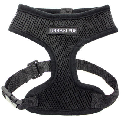 Urban Pup Jet Black Harness Medium
