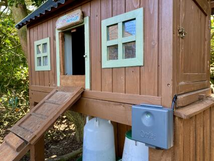 Adaptable to fit small timber coop