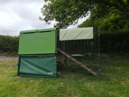 Adapting our Cube ready for ducks to join our chickens