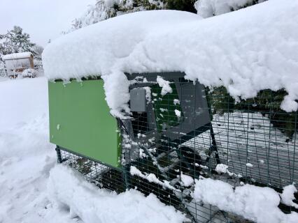 Elektrischer Türöffner funktioniert auch bei diesem Wetter