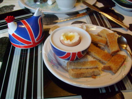 union flag eggcup