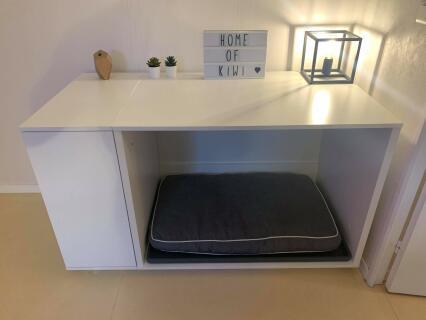 Niche Omlet Fido Nook 36 avec armoire - Blanche