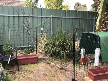 fence and gate linked to cube