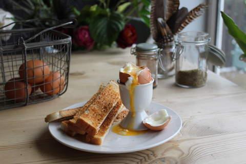 Nothing beats a golden yolk from a fresh egg