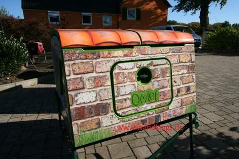 Folien für Omlet Eglu Cube 2