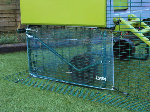 Clear Cover For Eglu Cube Wind Eglu Coop Weather Protection