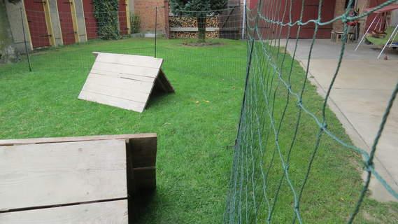 Nie wieder Hühner im Garten aufsammeln...