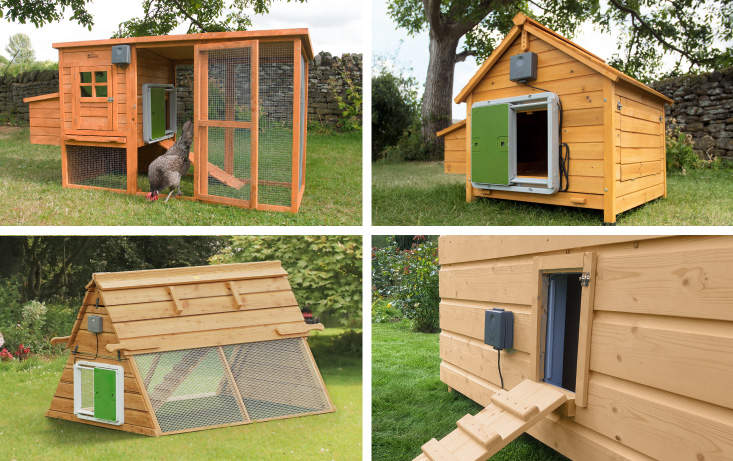 Attach your Autodoor to or in any wooden coop