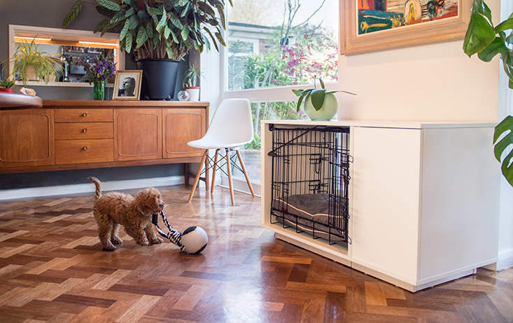 An Omlet Fido Nook will look great in your home!