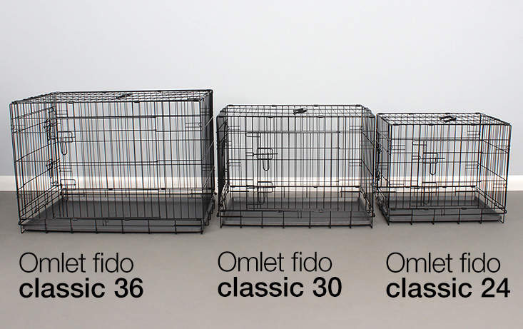 Omlet Fido Classic comes in a range of sizes