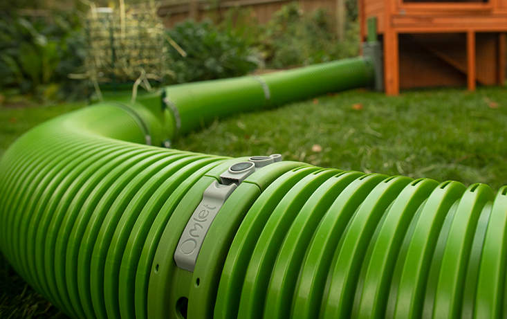 The durable Zippi rabbit burrow pipes are fully ventilated and are predator proof