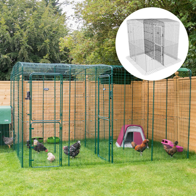 Walk In Chicken Run Large Outdoor Chicken Enclosure