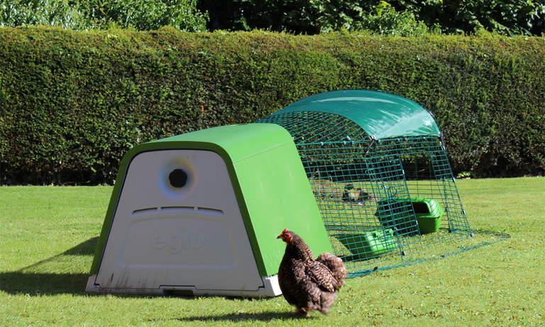 Hønsehuset Eglu Go passer utmerket til to-tre høner