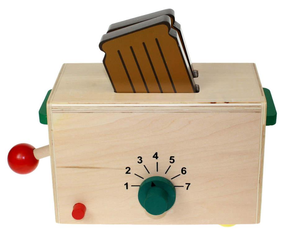 jouet grille pain en bois pour enfants cadeaux omlet. Black Bedroom Furniture Sets. Home Design Ideas