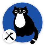 Omlet Cat Logo