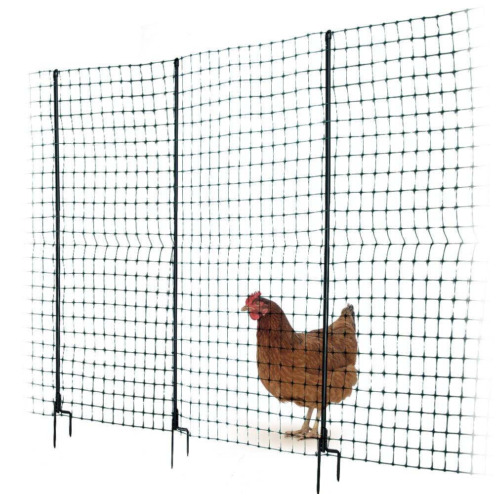 Der neue und verbesserte Omlet Hühnerzaun