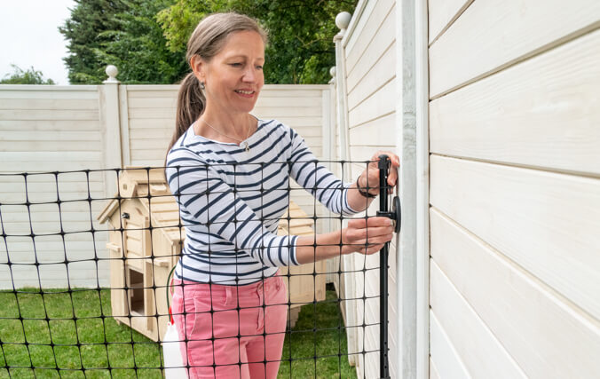 Connect To An Existing Fence or Walk In Run.