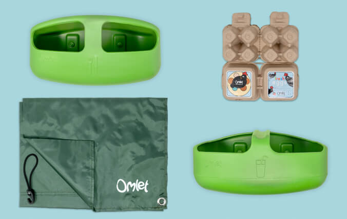 Feeder, Drinker, Weatherproof Shade, Omlet egg boxes, 30 day money back guarantee.