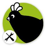 Omlet Chicken Logo