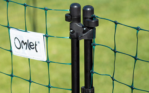 Das Tor kann sicher verschlossen werden.