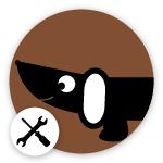 Omlet Dog Logo