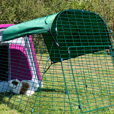 The Eglu Go Guinea Pig Hutch is suitable for every garden