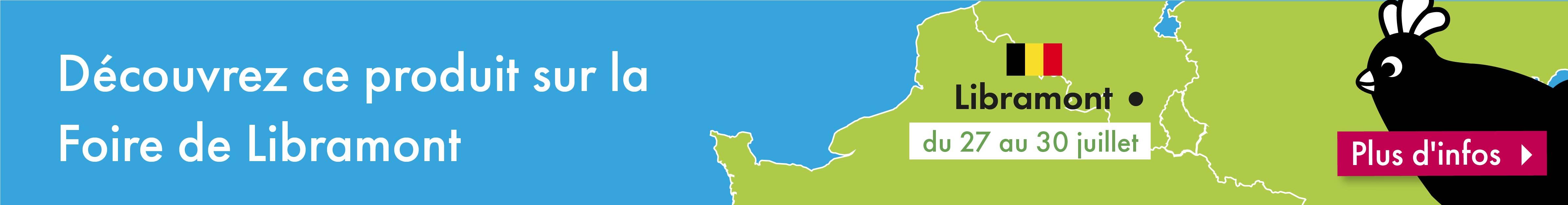 Découvrez les produits Omlet sur la Foire de Libramont (Belgique) du 27 au 30 juillet