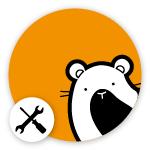 Omlet Hamster Logo