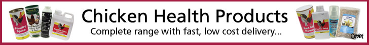 A complete range of chicken health products with fast, low cost delivery.
