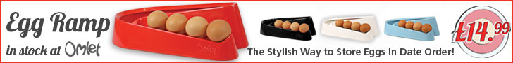The Stylish Way To Store Eggs