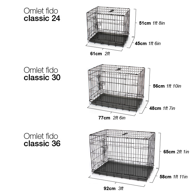 Omlet-Fido-Classic-Dimensioni-24-30-e-36