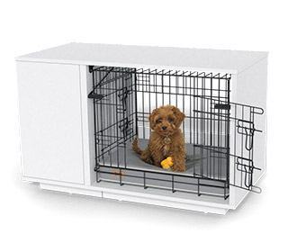 Fido Nook 2-in-1 Luxury Dog Bed and Crate
