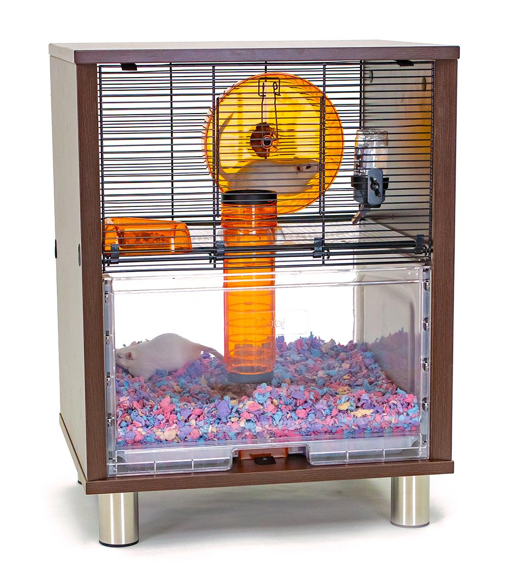 Cage à hamsters et gerbilles Qute