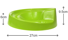 Dimensions of the Rollabowl