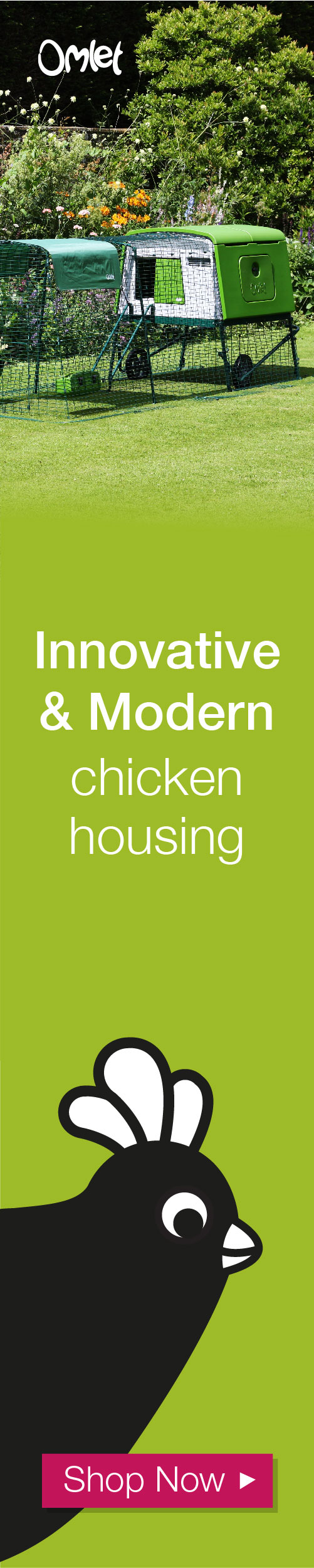 Innovative and modern chicken housing