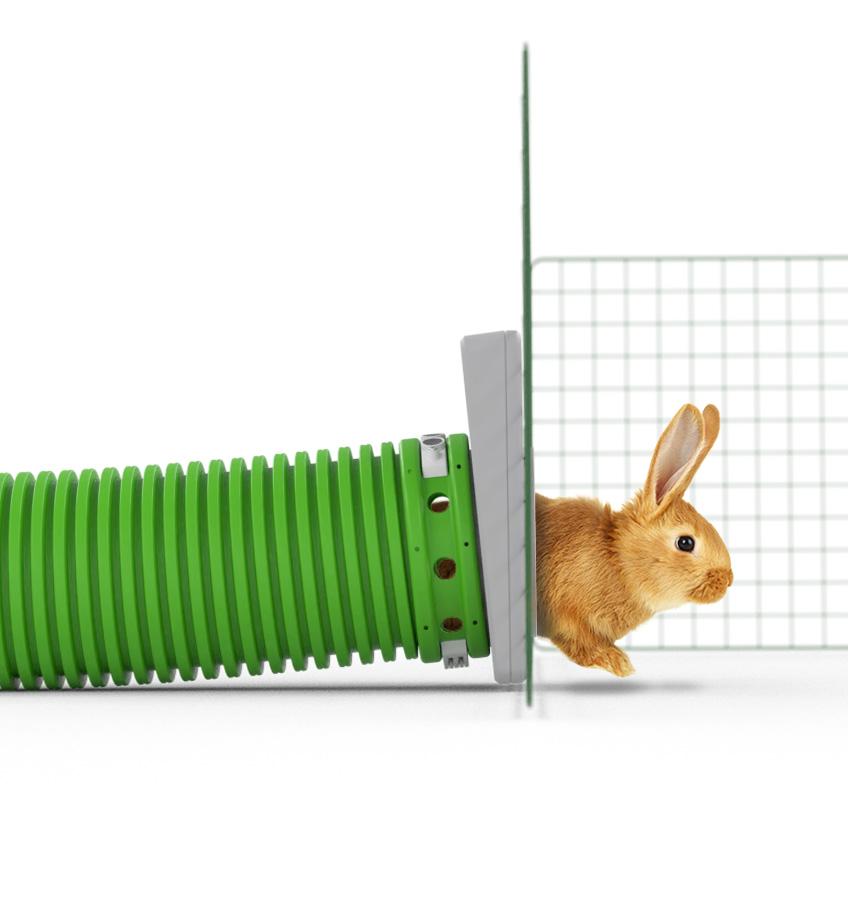 Tunnel pour lapins Zippi
