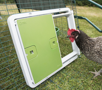 The Autodoor works on all types of chicken run