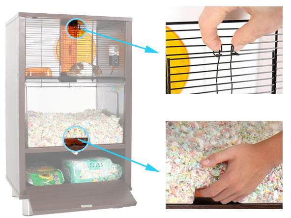 cage-à-hamster-sécurisée.