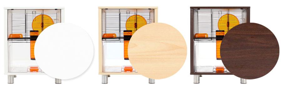 cage-a-hamster-et-gerbille-blanche-marron-noyer