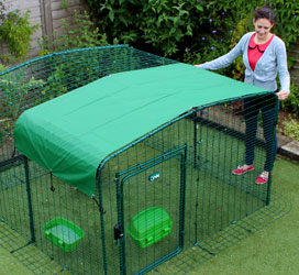 Omlet Catio Outdoor Cat Enclosure with heavy duty roof cover