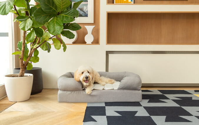 The Cooling Mat is lightweight and portable, and will keep your pet cool for up to 3 hours.