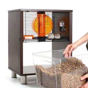 litière-de-la-cage-qute-omlet-pour-hamsters.