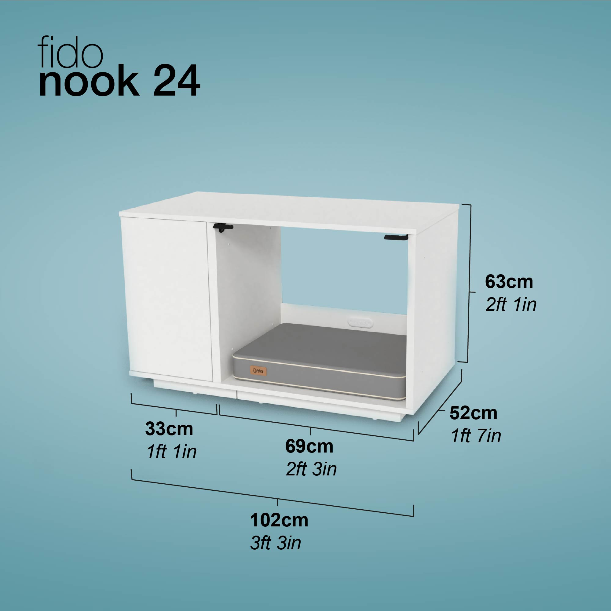 niche-Fido-Nook-24-Dimensions
